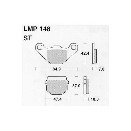AP BRAKE PAD LMP148