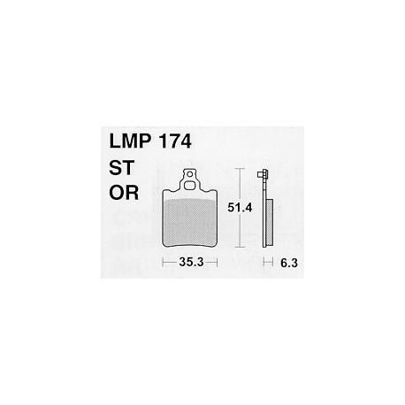 AP BRAKE PAD LMP174