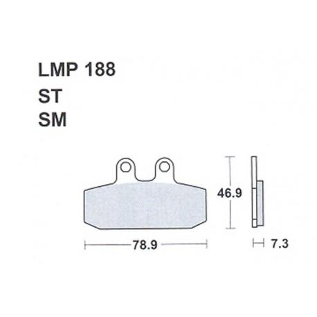 AP BRAKE PAD LMP188