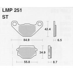 AP BRAKE PAD LMP251 - 999