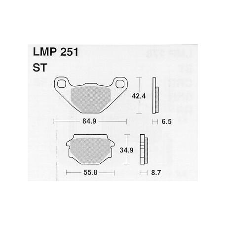 AP BRAKE PAD LMP251