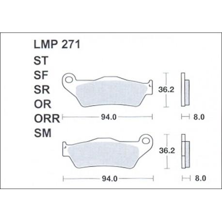 AP BRAKE PAD LMP271