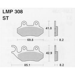 AP BRAKE PAD LMP308 - 999