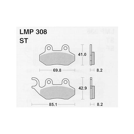 AP BRAKE PAD LMP308