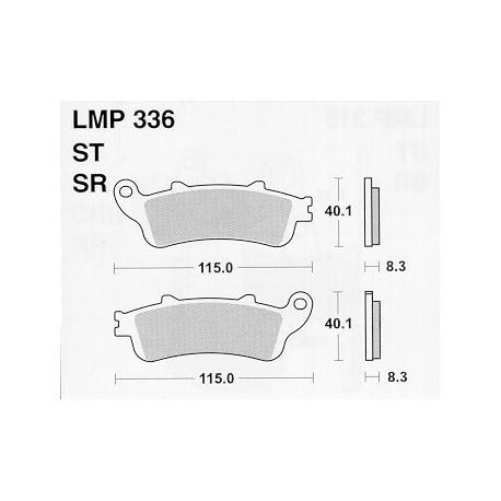 AP BRAKE PAD LMP336SR