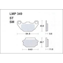 AP BRAKE PAD LMP349 - 999