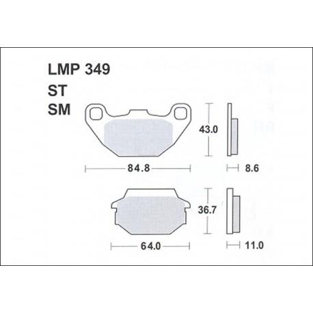 AP BRAKE PAD LMP349