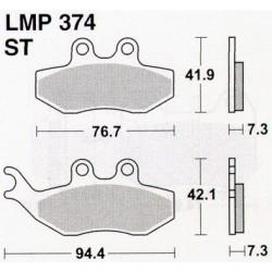 AP BRAKE PAD LMP374 - 999