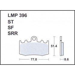 AP BRAKE PAD LMP396SF - 999