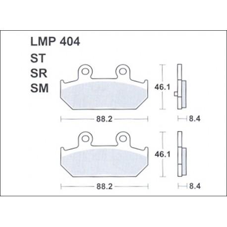 AP BRAKE PAD LMP404SM