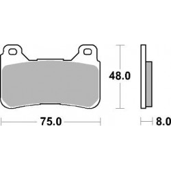 AP BRAKE PAD LMP409SF - 999