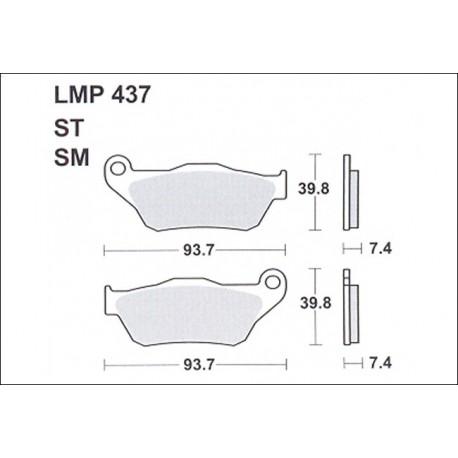 AP BRAKE PAD LMP437