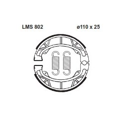 AP BRAKE SHOE LMS802 - 999