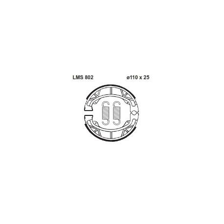 AP BRAKE SHOE LMS802