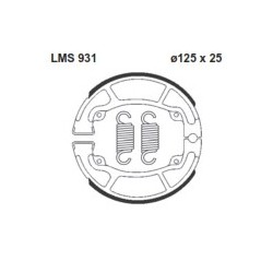 AP BRAKE SHOE LMS931 - 999