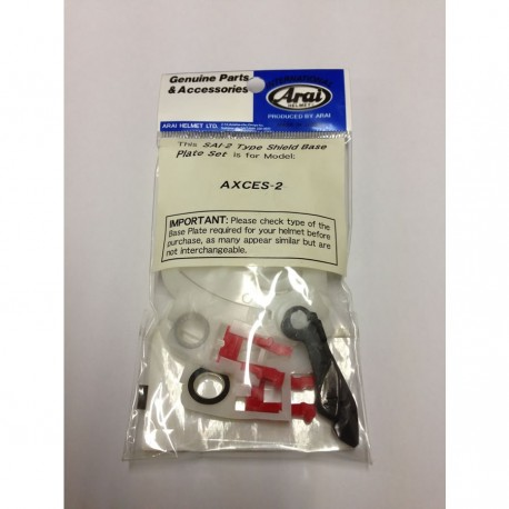 ARAI BASE PLATE AXCES-2
