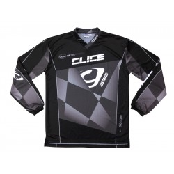 CLICE ZONE TRIAL JERSEY 2015 GRAY BLACK - 107