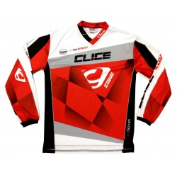 CLICE ZONE TRIAL JERSEY 2015 GRAY BLACK - 23