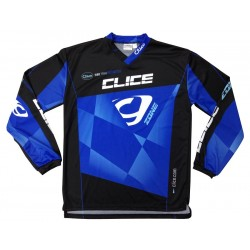 CLICE ZONE TRIAL JERSEY 2015 GRAY BLACK - 71