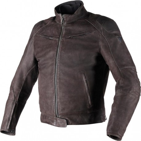 DAINESE BLACK HAWK LTHR JACKET