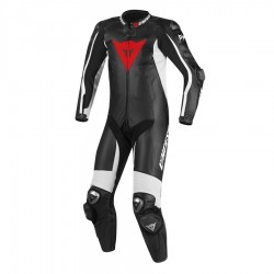 DAINESE D-AIR RACING MISANO -  Negro / Negro / Blanco