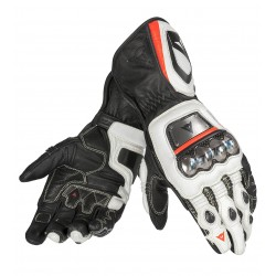 DAINESE FULL METAL D1 - NEGRO / BLANCO / NEON-RED