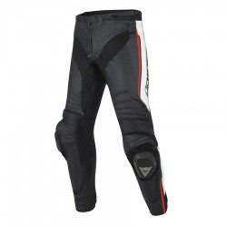 DAINESE MISANO PERFORATED - BLACK/WHITE/FLUO-RED