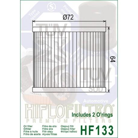 HF OIL FILTER HF133