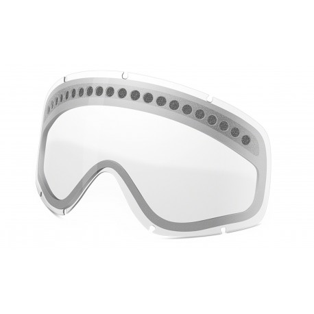 OAKLEY O-FRAME MX REPLACEMET LENS  DUAL VENTED CLEAR
