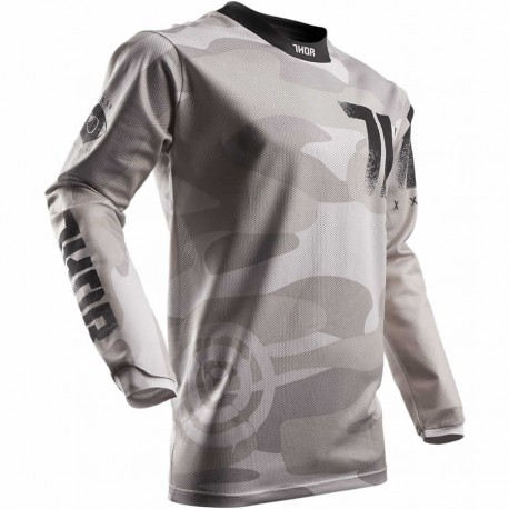 THOR maillot S7 PULSE AIR CO vert SAND