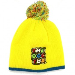 VALENTINO ROSSI BEANIE KID YELLOW - 999