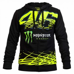 VR MONSTER FLEECE MAN 217104 - Negro