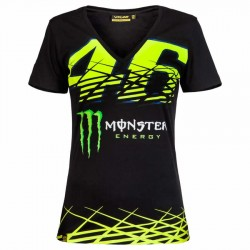 VR MONSTER T-SHIRT WOMAN 217304 - Negro