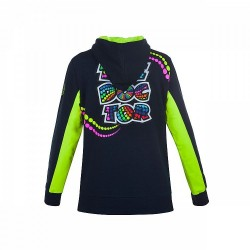 VR46 17 FLEECE ROSSI WOMAN 261202 - BNY