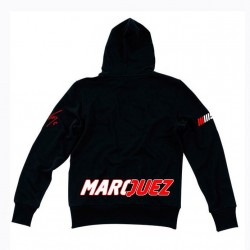 VR46 MARC MARQUEZ FLEECE MAN - Negro