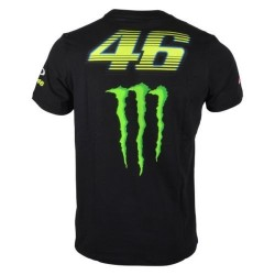 VR46 MONSTER T-SHIRT MAN - Negro