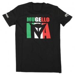 DAINESE MUGELLO D1 T-SHIRT NEGRO