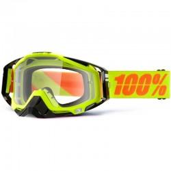 100% RACECRAFT NEON CLEAR