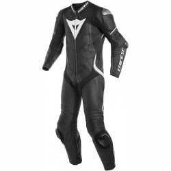 DAINESE LAGUNA SECA 4 1 PIECE PERFORATED - Black/Black/White