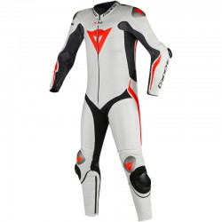 DAINESE MUGELLO R D-AIR - NEGRO / BLANCO / NEON-RED
