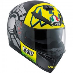 AGV K-3 SV WINTER TEST 2012 PINLOCK