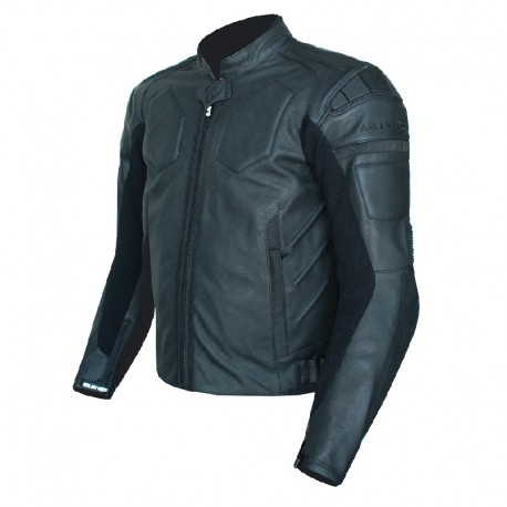 ARLEN NESS ALLBLACK LEATHER JACKET