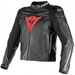 DAINESE SUPER FAST PERFORE - Noir / Gris Anthracite