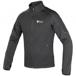 DAINESE D-MANTLE FLEECE - Noir / Gris Anthracite