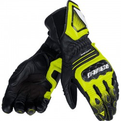 DAINESE CARBON COVER ST - Negro Blanco Amarillo