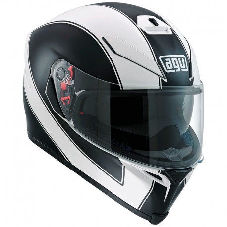 AGV K-5 ENLACE RED MATT BLACK