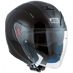 AGV K-5 JET SOLID - Negro
