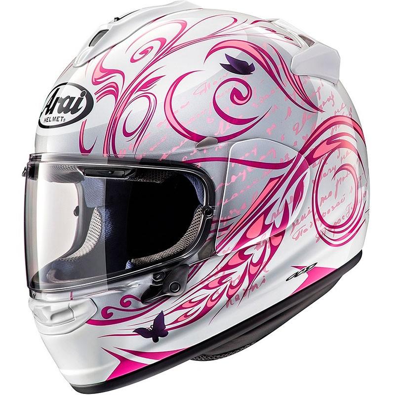 casque arai chaser x style pink marti motos. Black Bedroom Furniture Sets. Home Design Ideas