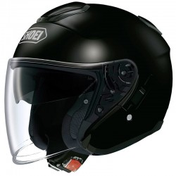 SHOEI J-CRUISE MONOCOLOR - Negro