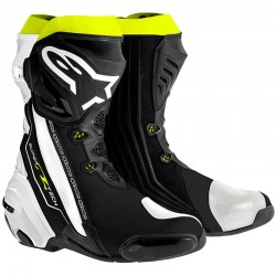 ALPINESTARS SUPERTECH R - Black - White - Yello